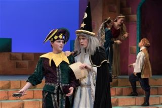 "William in his role as the Jester in ""Once Upon A Mattress"""
