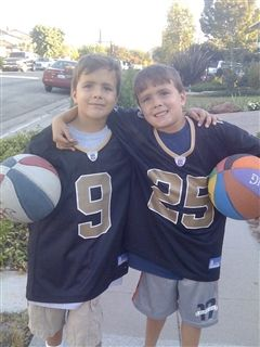 Ben & Will have been sports enthusiasts since they were kids!