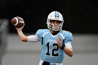 Quarterback Ryan Johnsen '21, Region Offensive Player of the Year