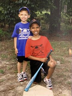 John Jr. and Jordan played a variety of sports when they were younger, including baseball.