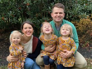 Joe, Sarah, and their three daughters