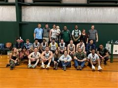 Alum players and fans - alums vs varsity game