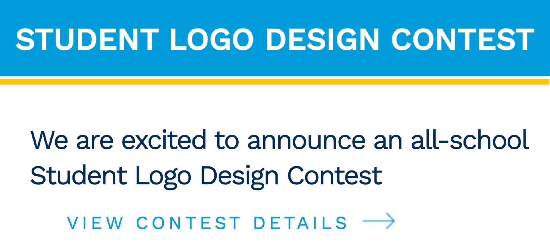 We are excited to announce an all-school Student Logo Design Contest