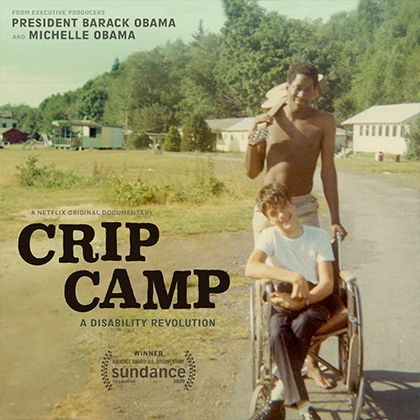 Netflix poster for the Crip Camp