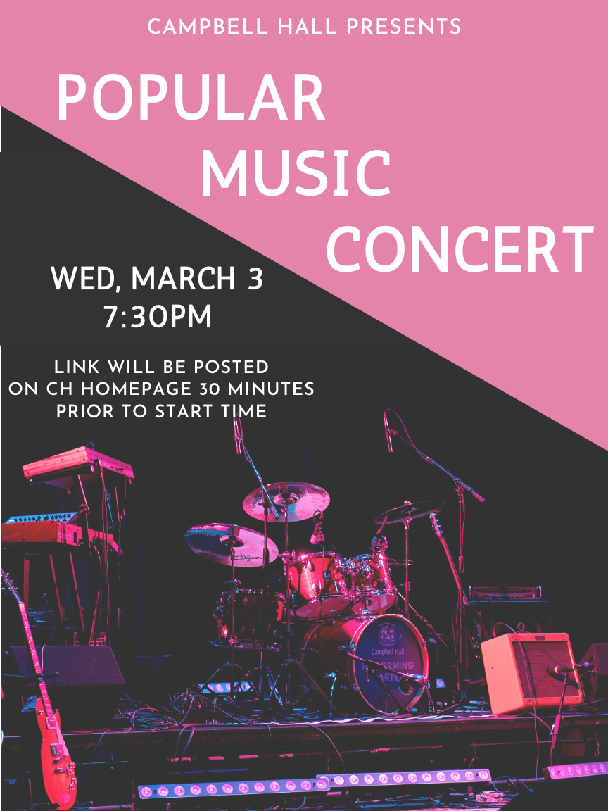 Flyer for the performance
