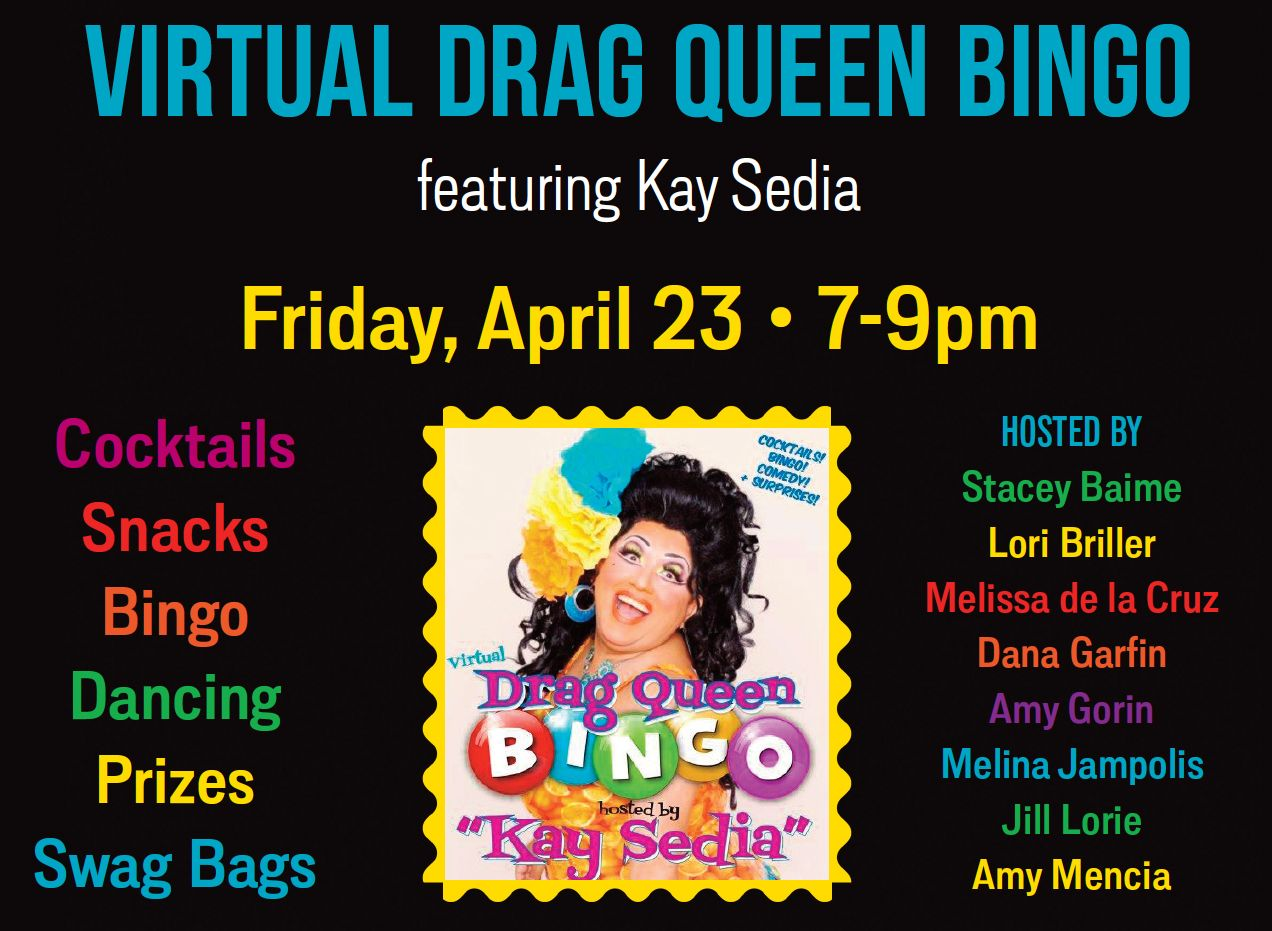 event flyer with image of Kay Sedia
