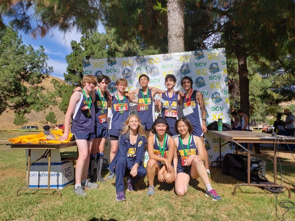 Cross Country had an outstanding showing at the Santa Clarita Invitational