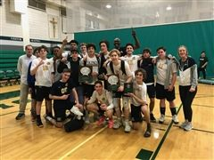 Boys' Volleyball wins Providence Tournament