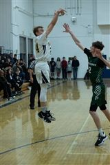 Kyle Beedon scored 41 points in the Vikings 86-53 over Eagle Rock