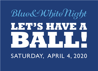 Blue & White Night