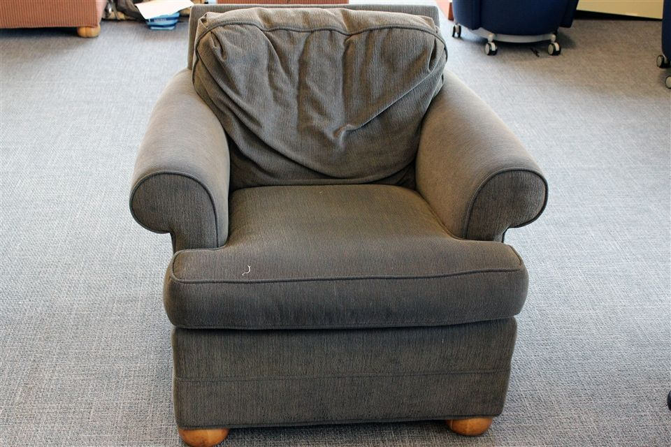 Original, worn chair