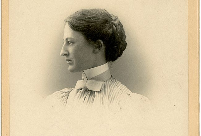 Molly Dewson, Class of 1893 (Photo credit: Wellesley College Archives, Library and Technology Services)