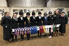 Upper School Equestrian Team