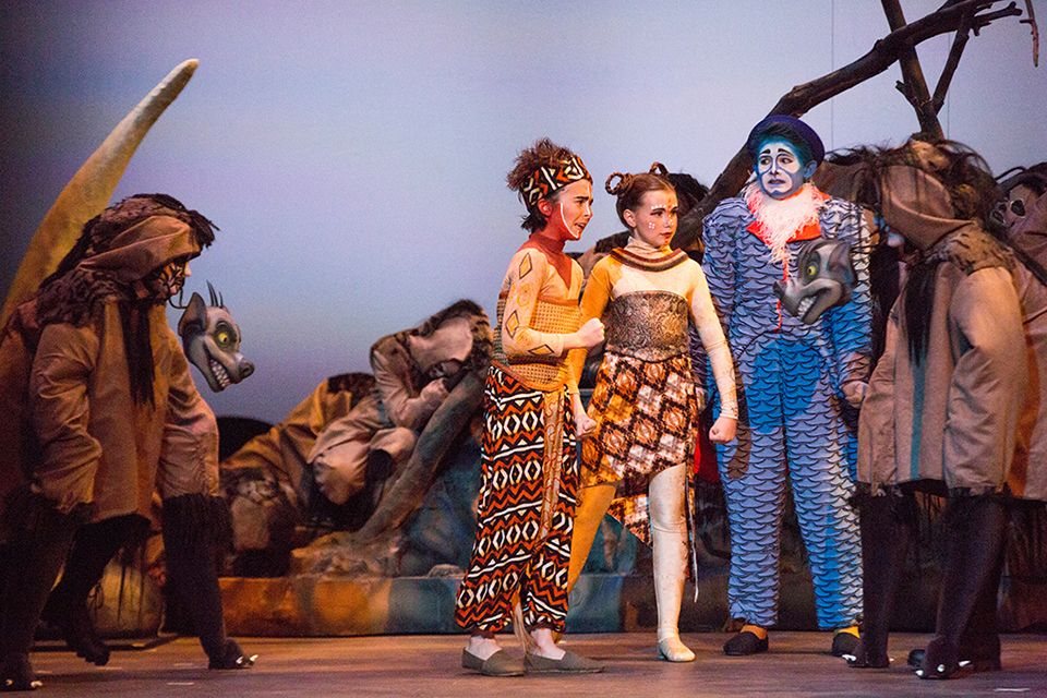 St Margaret S Episcopal School The Lion King Jr Ms Musical Dazzles Audiences See The Photos