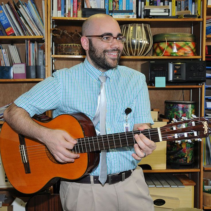 Peter Bucci - Lower School Music Teacher