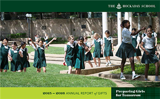 Annual Report of Gifts 2015-2016