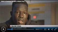 Watch video: http://www.kvoa.com/story/34527239/bullets-to-baskets-the-story-of-majok-deng