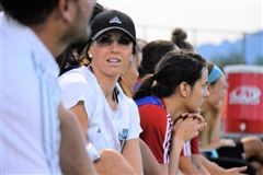 Kelly Pierce is an assistant coach with FC Tucson. (Andy Morales/AZPreps365.com)