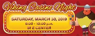 Register for Viking Casino Night!