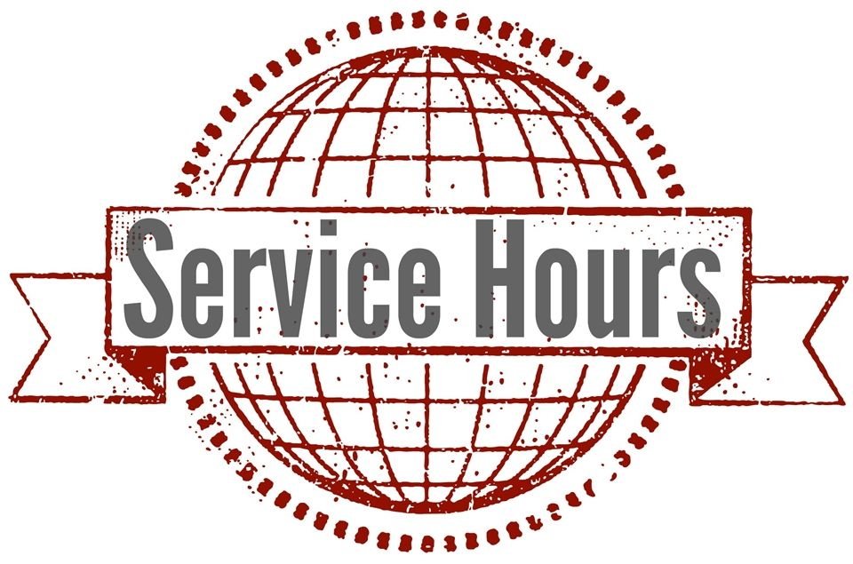 "Image result for ""service hours"""