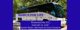 MARCH FOR LIFE FRI. JAN 19TH