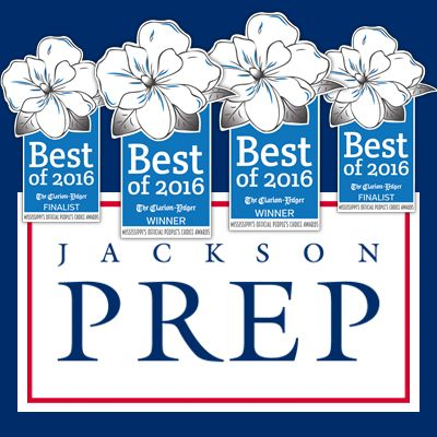 Jackson Prep was voted the #1 private school in the state!