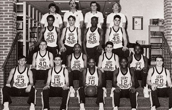 1987 Basketball Team