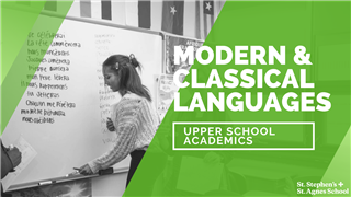 Join our Modern and Classical Languages department chair as she provides an overview of course offerings, a look at opportunities beyond the classroom. You will also hear from students and end with a Q&A session.
