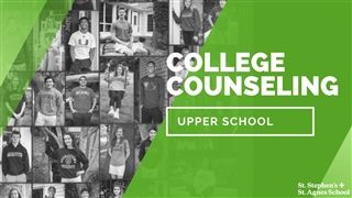 Join us for this informative conversation with the SSSAS College Counseling office. They share the secrets to their success in supporting our students through the college admissions process.