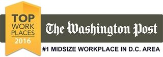 #1 Midsize Workplace in D.C. Area