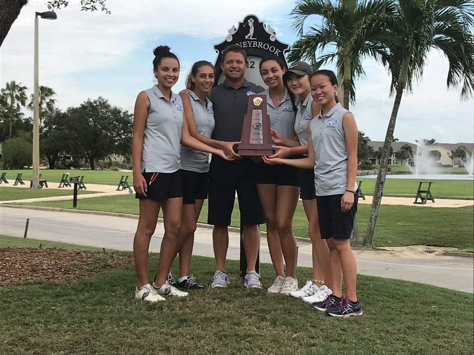 Lady Cougars Win District Golf Championship