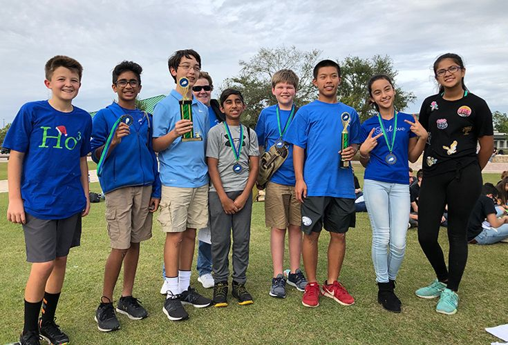 Canterbury Wins 3rd in FGCU Math Competition