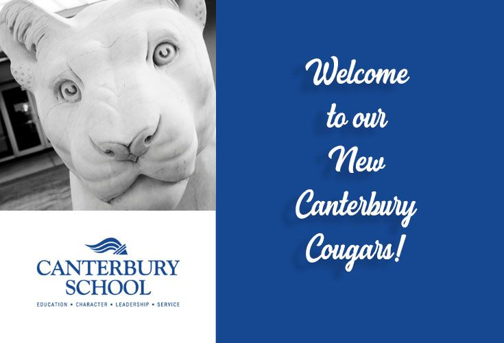 Canterbury Welcomes New Faculty & Staff