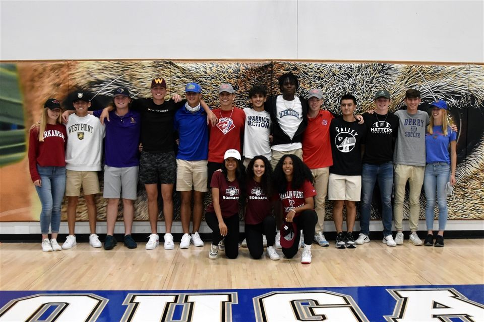 Senior Signing Ceremony