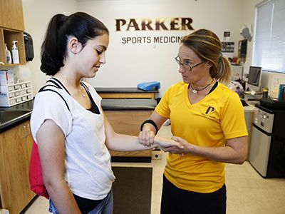 Parker Athletics Sports Medicine and Athletic Training San Diego California