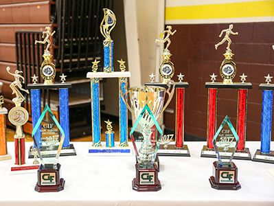 San Diego California High School Francis Parker School Athletic Awards