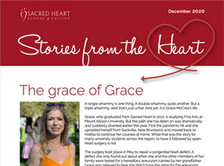 Stories from the Heart - December 2020