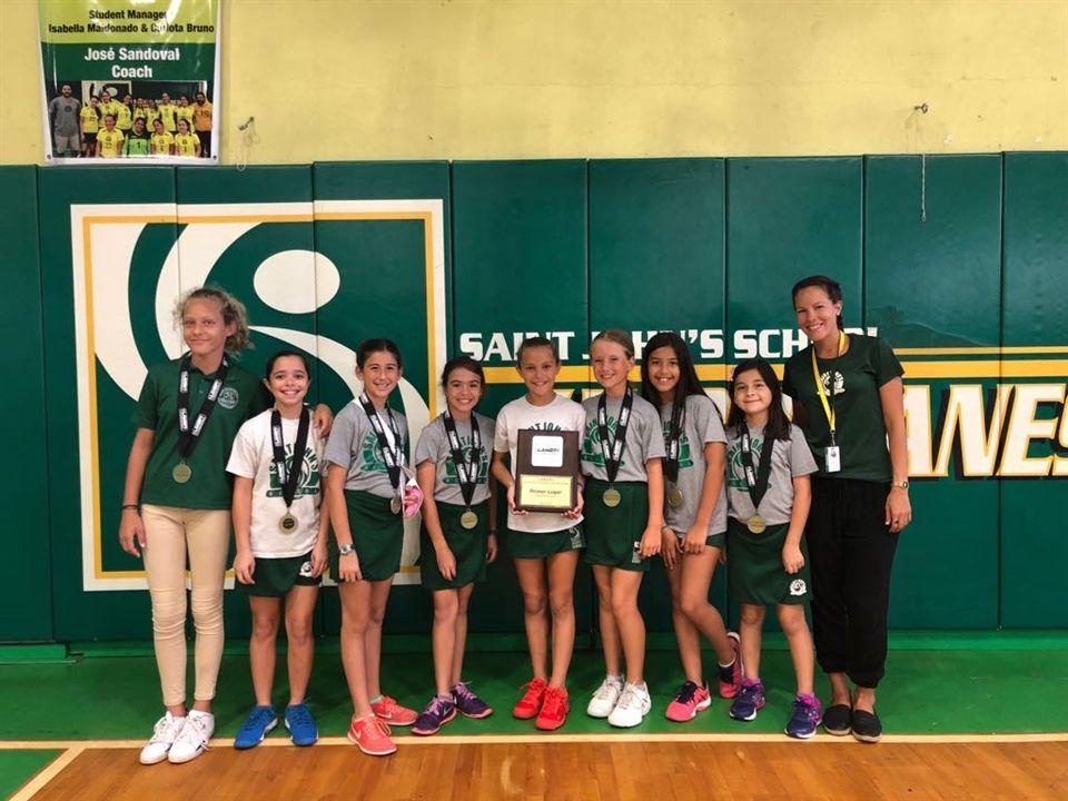 Cecilia Rodriguez Calendario 2020.Saint John S School Mini Girls Tennis Champions