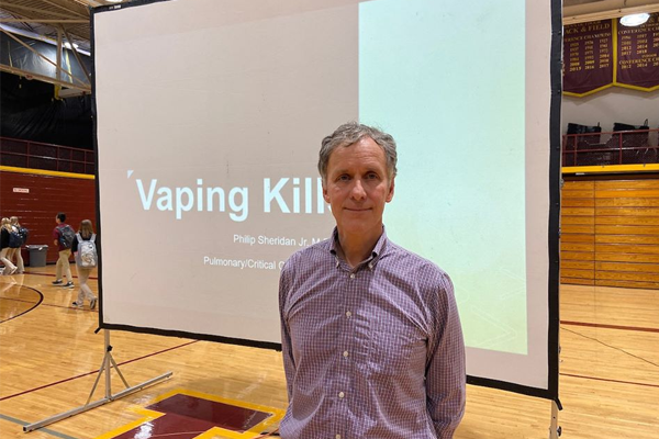 Dr. Phil Sheridan '78 on the Dangers of Vaping