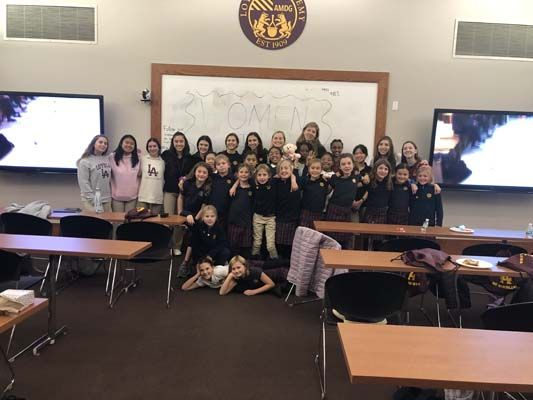 Women in Stem Hosts Girl Scout Workshop