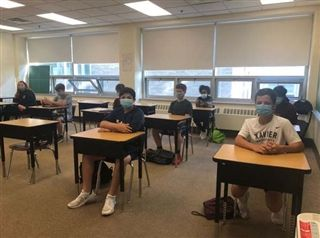 Incoming freshmen enrolled in Literacy & Learning and/or Algebra 1 Essentials spent the last three weeks of summer session on campus.