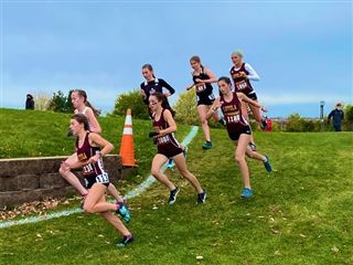 Girls' Cross Country Wins the GCAC Championship