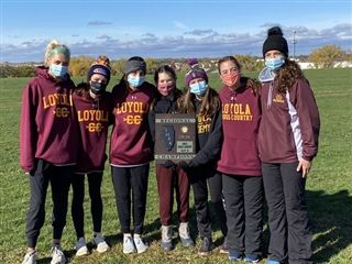 Girls' Cross Country Wins 3A Regional Championship