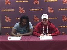 Athletic Letter of Intent Winter Signing Day Ceremony