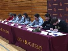 Athletic Letter of Intent February Signing Day Ceremony