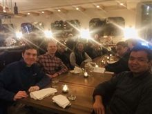 Mentor Program Members Enjoy Dinner in the City