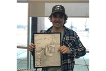 Quinn Nimesheim '22 Takes 2nd Place at Glenview Art League Youth Fair