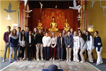 World Religion Students Visit Buddhist Temple of Chicago