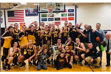 Boys' Basketball Defeats Maine South in Regional Championship