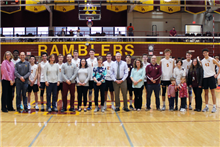 Boys' Volleyball Hosts Faculty and Staff Appreciation Night